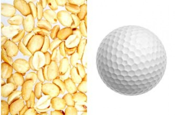 Portion sizes, diet - peanuts