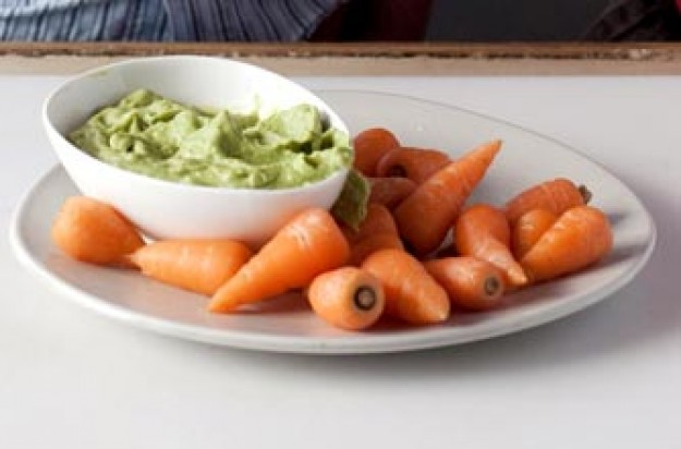 Dippers with guacamole