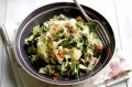 Jo Pratt's crab and broccoli tagliatelle with lemon and basil