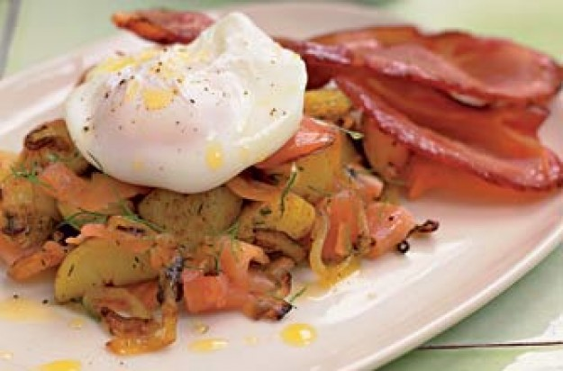 New York Smoked Salmon Hash