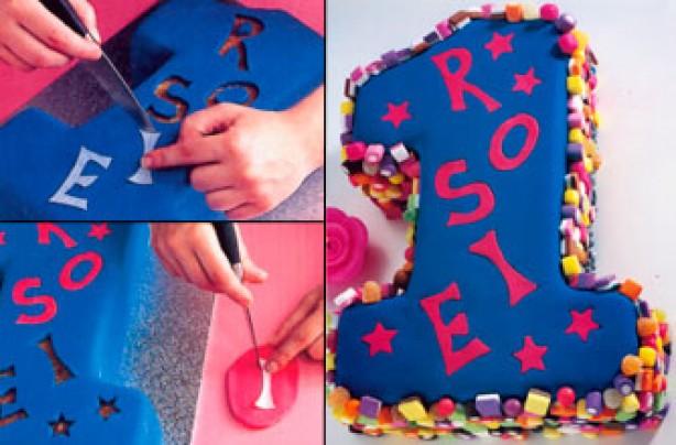 Number 1 Birthday Cake Decoration Ideas : 40 brilliant birthday cakes - Number birthday cake ...