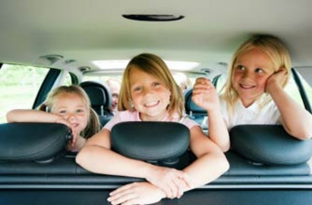 Children car journey