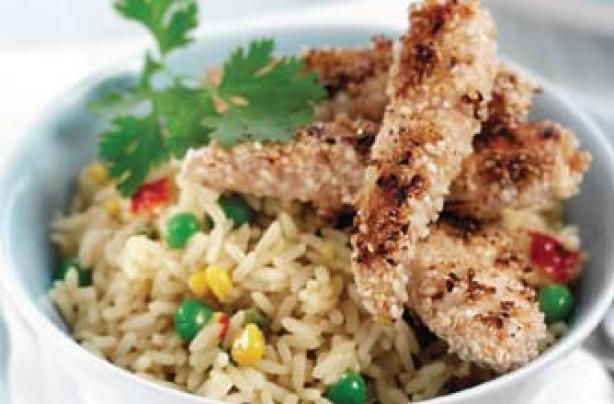James Tanner's sesame chicken