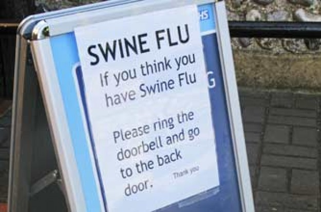 Swine flu board