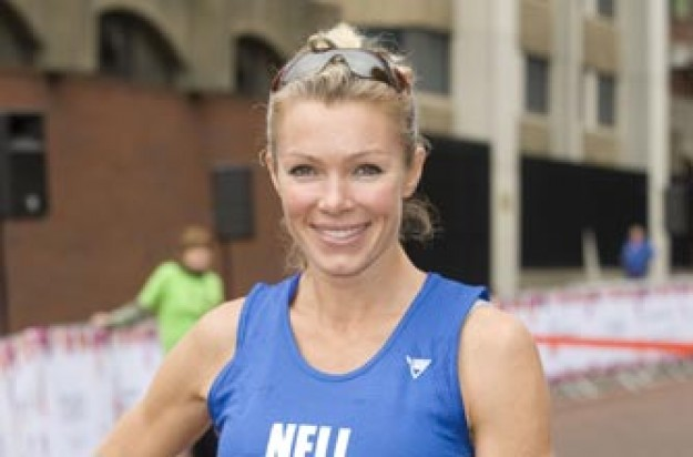 Nell McAndrew at the Royal Parks Foundation Half Marathon
