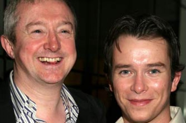 Louis Walsh and Stephen Gateley