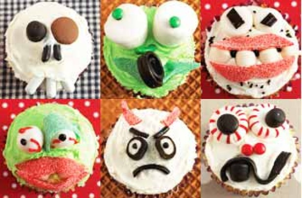 Annabel Karmel's scary cupcakes