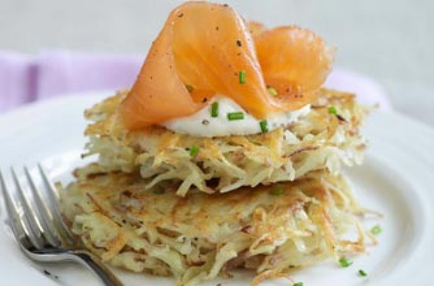 Michel Roux's potato pancakes