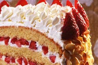 Strawberry Gateau Recipe Goodtoknow