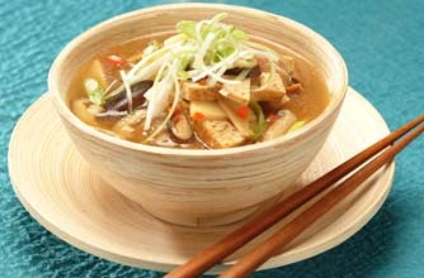 Vegetarian hot and sour soup recipe