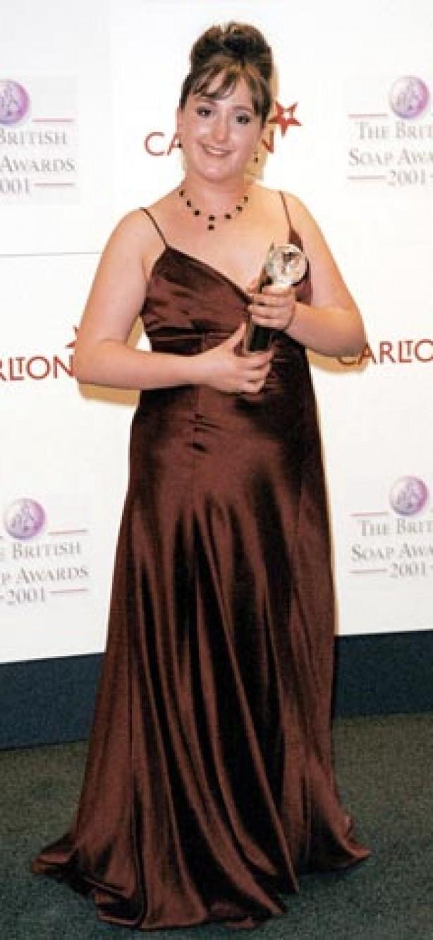 Natalie Cassidy May 2001
