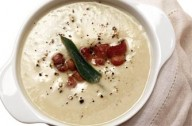Butterbean and bacon soup