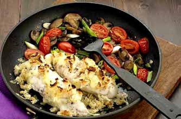 Monkfish pan fry