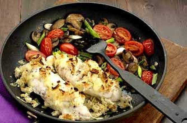 Monkfish pan fry