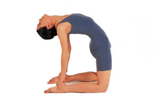 Yoga position, Camel pose