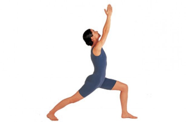 Yoga positions, Warrier pose