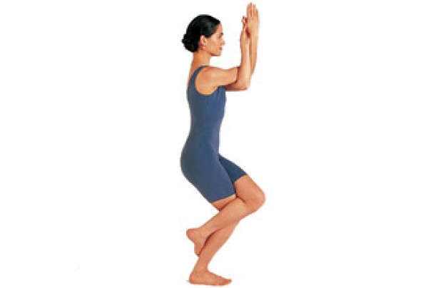 Yoga position, Eagle pose