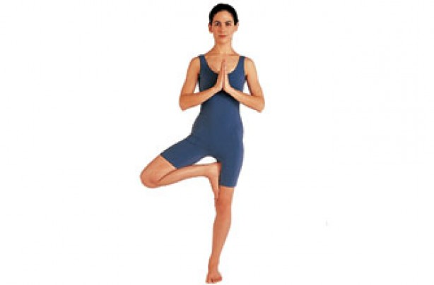 Yoga positions, Tree pose