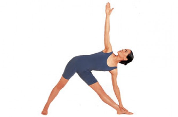 Yoga positions, Triangle