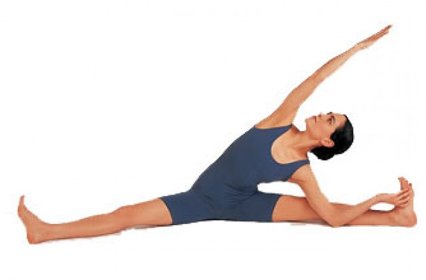 Yoga positions, Sitting leg stretch