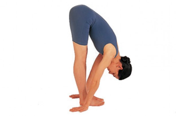 Yoga positions, Standing forward bend