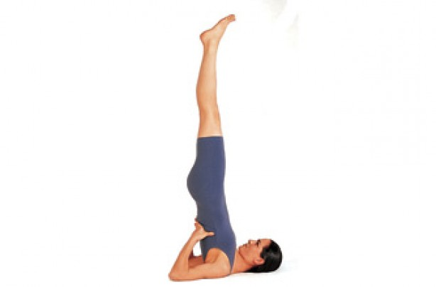 Yoga positions, Shoulderstand