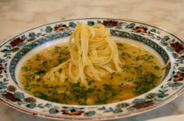 Hairy Bikers chicken noodle soup 9 Dec