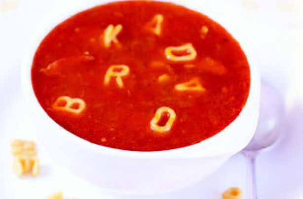 Alphabet soup recipe