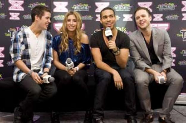 X Factor final four