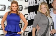 Kerry Katona before and after picture