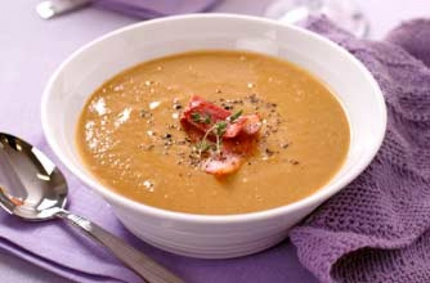 Chestnut and bacon soup recipe - goodtoknow
