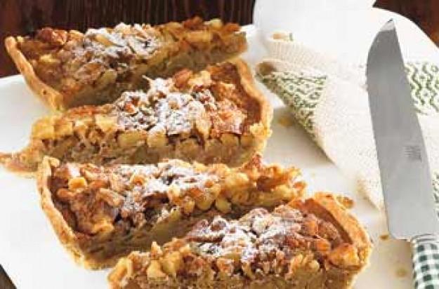 Walnut and honey tart recipe - goodtoknow