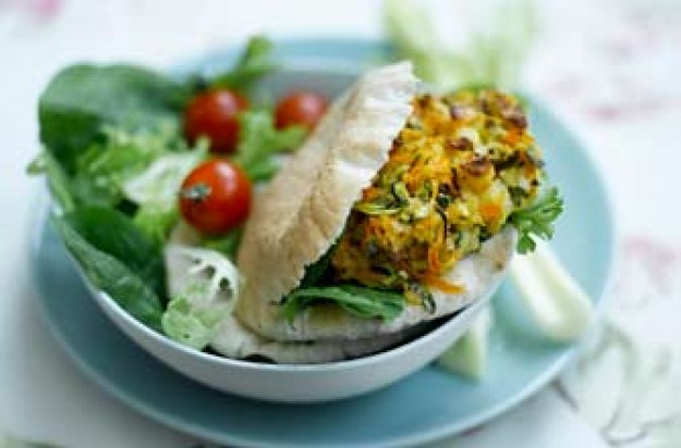 Weight Watchers halloumi burger