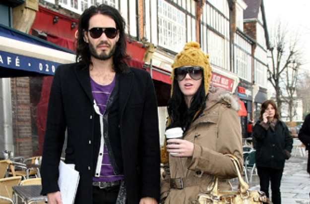Russell Brand and Katy Perry engaged