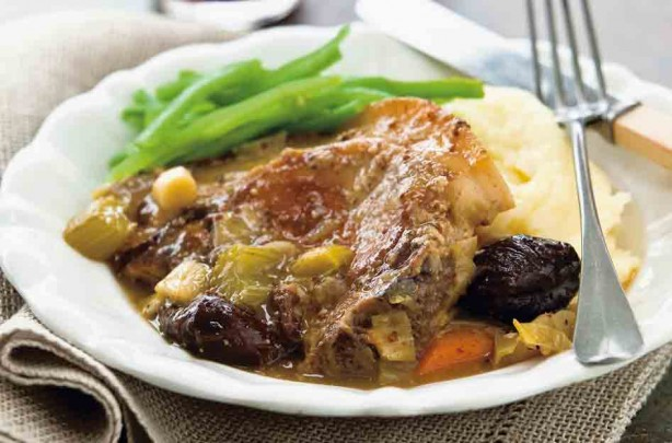 Port and prune casserole