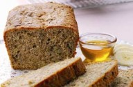 Honey and banana loaf