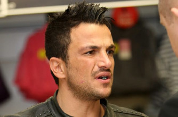 Peter Andre upset