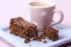 Treacle flapjack