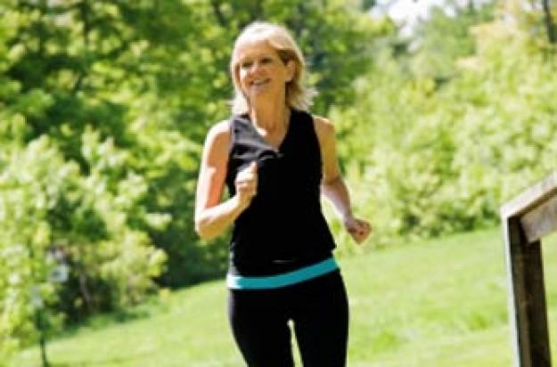 Woman running/jogging