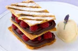 Steve Grove's Millefeuille from Professionals MasterChef 2009