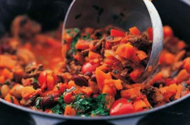 Recipes, Weight Watchers chilli con carne