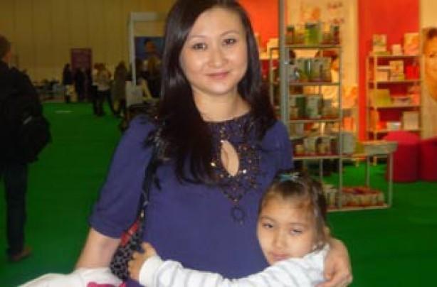 Saida with 6 year old Jasmine