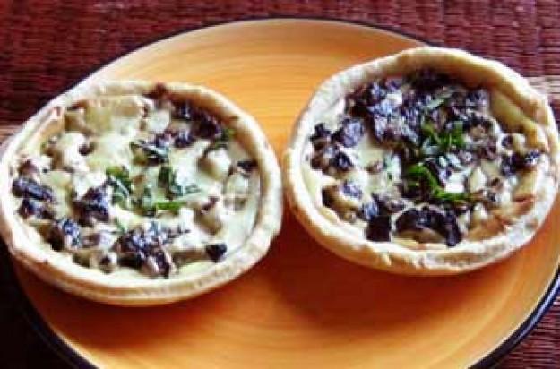 Java's mushroom tarts