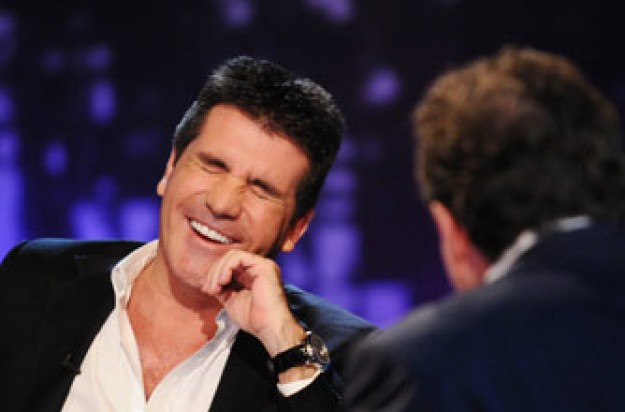 Piers Morgan and Simon Cowell