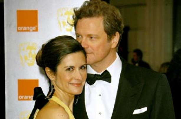 Married celebrity couples Colin Firth