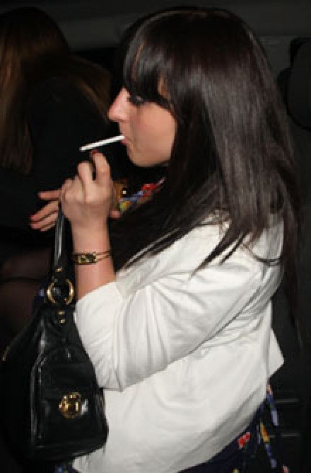 Celebrities smoking - Natalie Cassidy