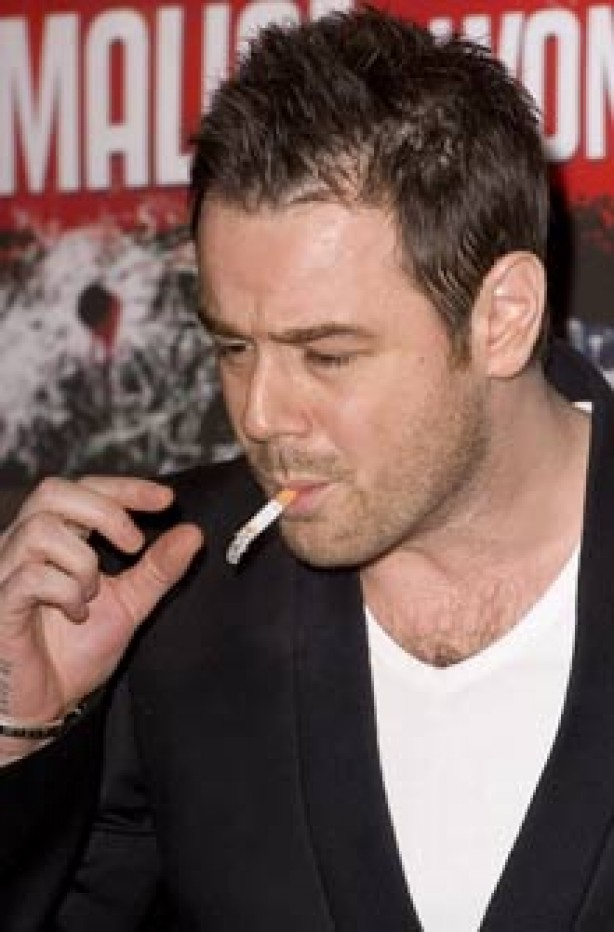 Celebrities smoking - Danny Dyer