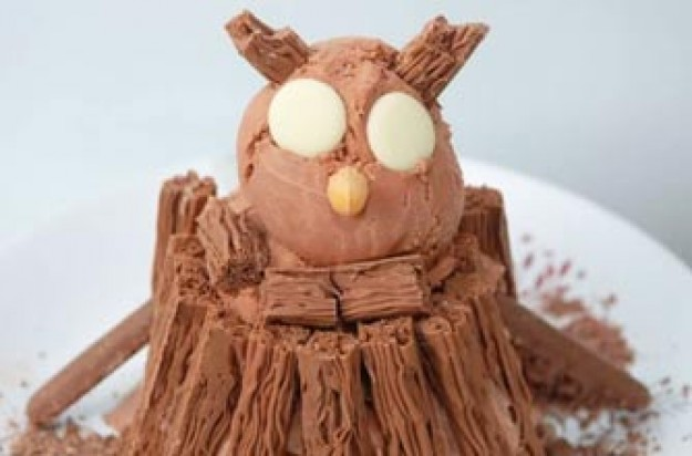 The Gruffalo owl ice cream recipe