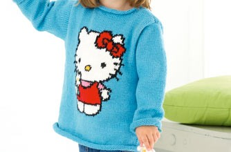 Hello Kitty knitting pattern