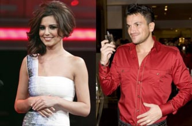 Cheryl Cole and Peter Andre